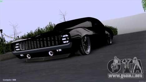 Chevrolet Camaro 1969 Pro Sport para GTA San Andreas