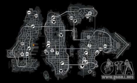 Mini almacén para GTA 4 adelante de pantalla