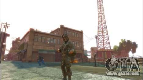 Un soldado ruso v1.0 para GTA 4 tercera pantalla