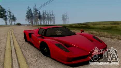 Ferrari Enzo 2002 para la visión correcta GTA San Andreas