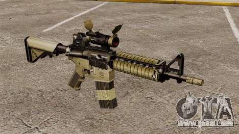 Automático carabina M4 CQBR v1 para GTA 4
