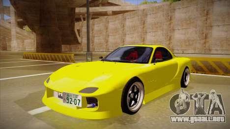 Mazda FD3S BN Sports para GTA San Andreas