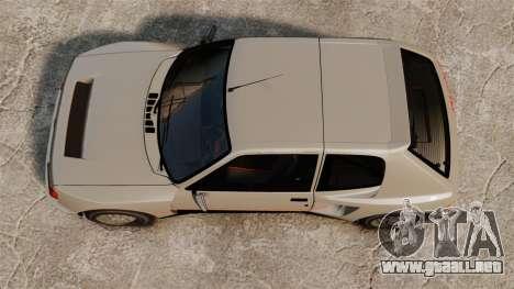 Peugeot 205 Turbo 16 para GTA 4 visión correcta