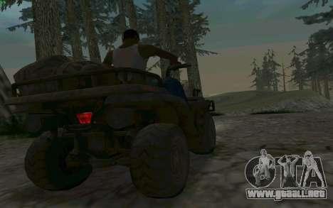 ATV de la medalla de Honor para visión interna GTA San Andreas