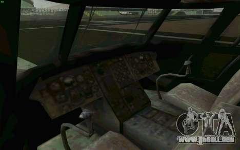 MH-47 para visión interna GTA San Andreas