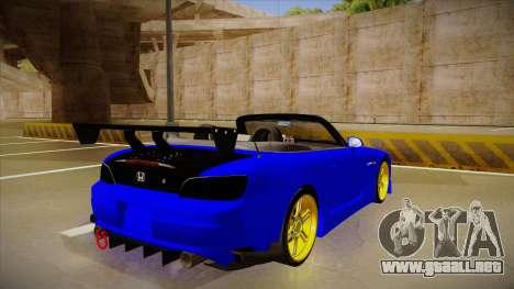 Honda S2000 C-West para la visión correcta GTA San Andreas