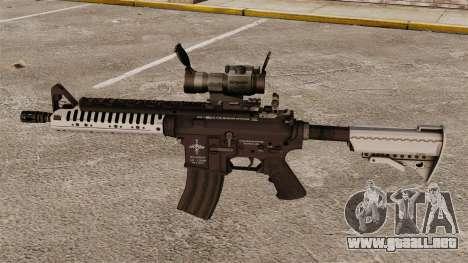 Automático carabina M4 VLTOR v6 para GTA 4 tercera pantalla