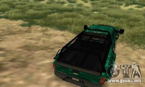 Chevrolet Silverado 3500 Military para la visión correcta GTA San Andreas