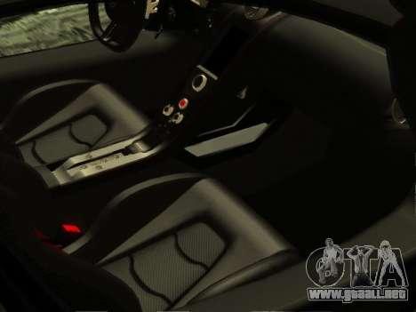 McLaren MP4-12C WheelsAndMore para GTA San Andreas interior