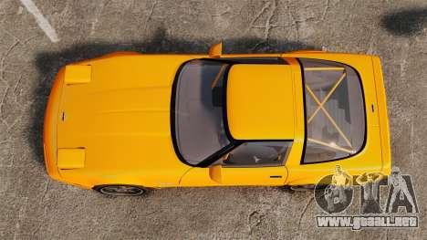 Chevrolet Corvette C4 1996 v1 para GTA 4 visión correcta