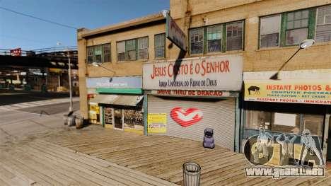 Tiendas brasileñas para GTA 4 octavo de pantalla