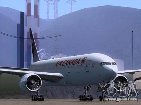 Boeing 777-200ER Air Canada para GTA San Andreas left