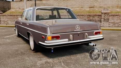 Mercedes-Benz 300 SEL 1971 para GTA 4 Vista posterior izquierda