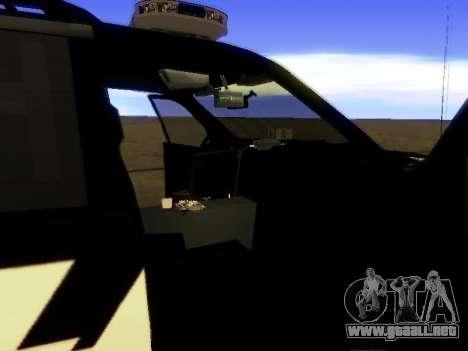 Ford Explorer 2010 Police Interceptor para la visión correcta GTA San Andreas