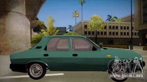 Dacia 1310 Berlina 2001 para GTA San Andreas vista posterior izquierda