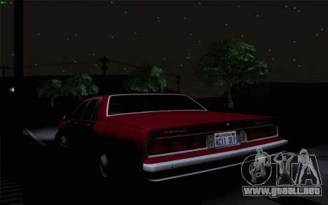 Chevrolet Caprice 1987 para la vista superior GTA San Andreas