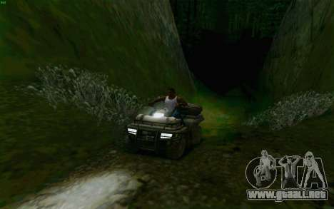 ATV de la medalla de Honor para vista lateral GTA San Andreas