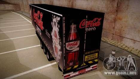 Sider semi remolque Coca-cola Zero para GTA San Andreas