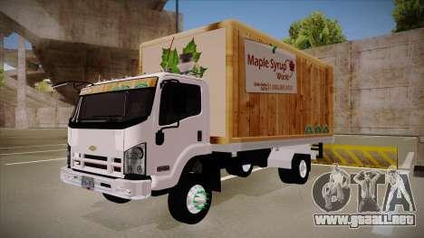 Chevrolet FRR Maple Syrup World para GTA San Andreas