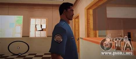 Cadet Of The Police Academy para GTA San Andreas segunda pantalla