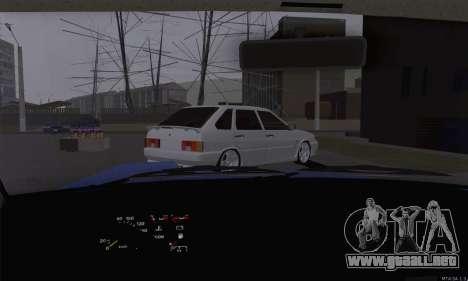 VAZ 2108 roto para visión interna GTA San Andreas