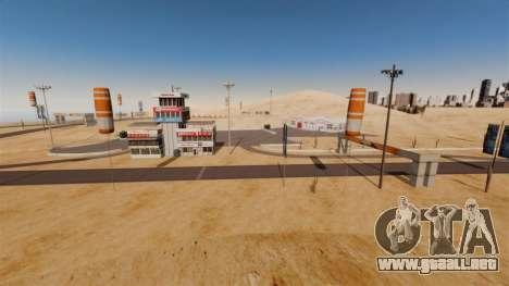Ubicación DesertDrift ProStreetStyle para GTA 4 segundos de pantalla