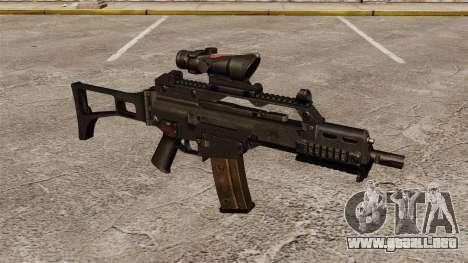 Automático v3 HK G36C para GTA 4
