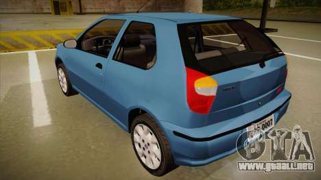 FIAT Palio EX 2003 para la visión correcta GTA San Andreas