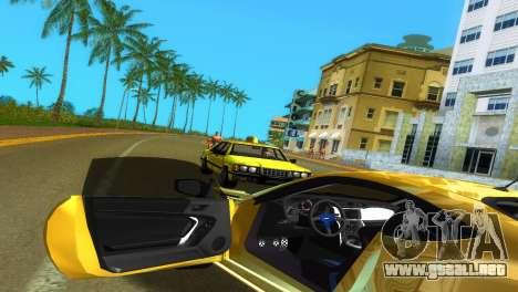 Subaru BRZ Type 5 para GTA Vice City vista superior