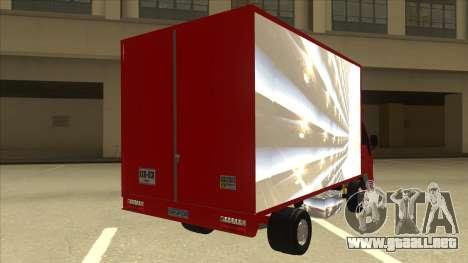 JAC 1040 para la visión correcta GTA San Andreas