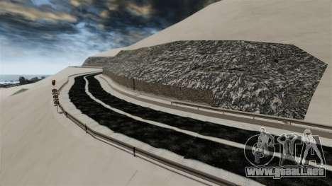 Ubicación Nevado Sakina para GTA 4 séptima pantalla