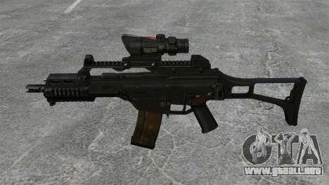Automático v3 HK G36C para GTA 4 tercera pantalla