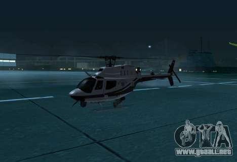 OH-58 Kiowa Police para GTA San Andreas left