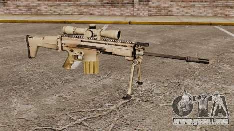 Fusil automático Mk 17 SCAR-H para GTA 4