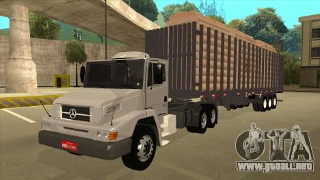 Mrecedes-Benz LS 2638 Canaviero para GTA San Andreas vista hacia atrás