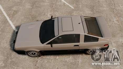 Blista actualizado para GTA 4 Vista posterior izquierda