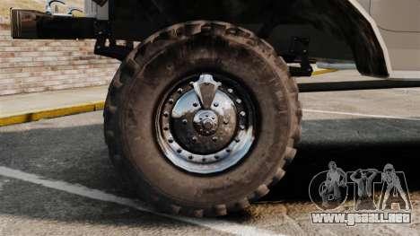 Camión ZIL-157 para GTA 4 vista hacia atrás