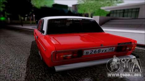 Retro 2106 VAZ para GTA San Andreas vista posterior izquierda