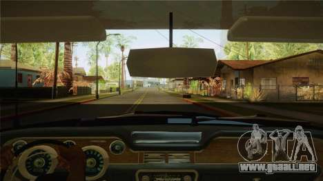Fasthammer Police SF para visión interna GTA San Andreas