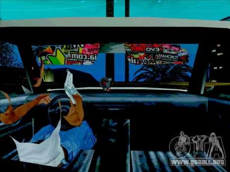Admiral para GTA San Andreas vista posterior izquierda