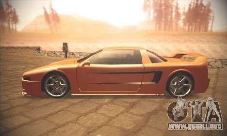 Infernus One para GTA San Andreas left
