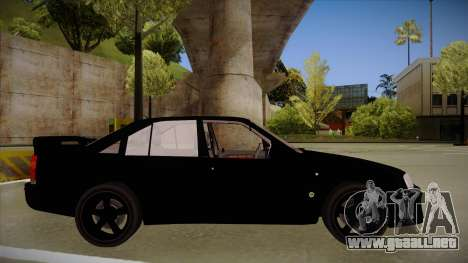 Lotus Carlton para GTA San Andreas vista posterior izquierda
