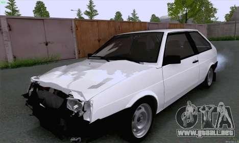 VAZ 2108 roto para GTA San Andreas left