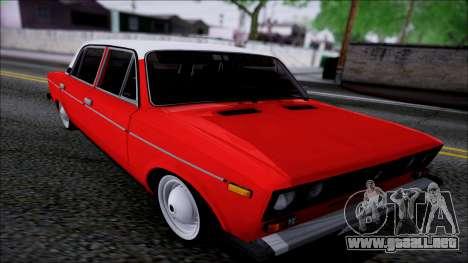 Retro 2106 VAZ para visión interna GTA San Andreas