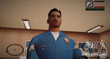 Cadet Of The Police Academy para GTA San Andreas tercera pantalla