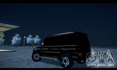 Mercedes-Benz G500 Gelandewagen para GTA San Andreas left