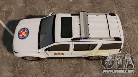 Nissan Pathfinder HGSS [ELS] para GTA 4 visión correcta
