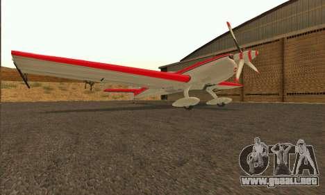Stunt GTA V para GTA San Andreas vista posterior izquierda