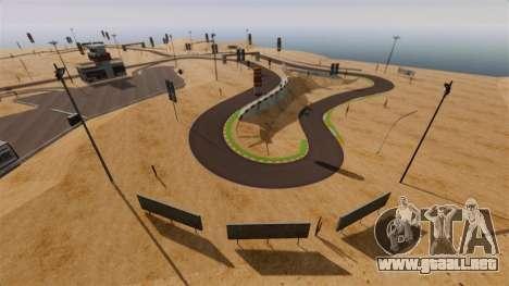 Ubicación DesertDrift ProStreetStyle para GTA 4 tercera pantalla