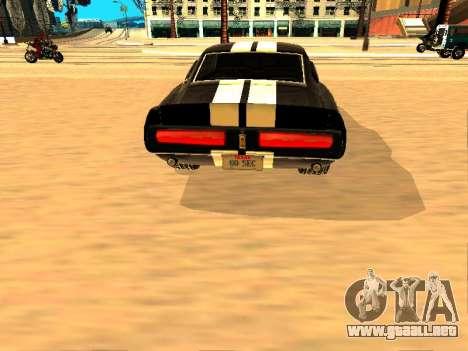 Ford Shelby GT-500E Eleanor para la visión correcta GTA San Andreas